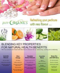 Pure Organics Flyer