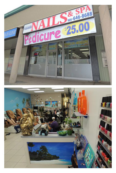 Paradise Nails and Spa in St. Catharines