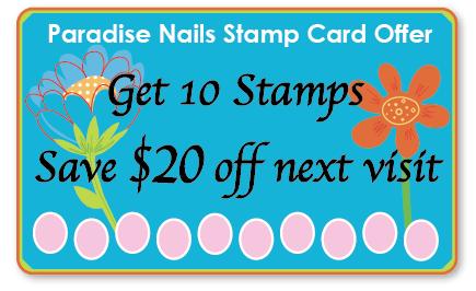 Paradise Stamp Card