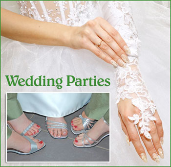 Wedding Party Nail Services